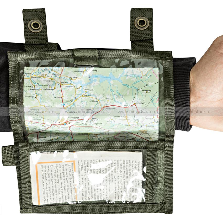 Планшет на руку для карты