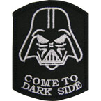"Патч ""Come to dark side"", 5.7 x 7.7 см"