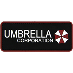 "Патч ""Umbrella Corporation"", ПВХ, 12 x 5 см"