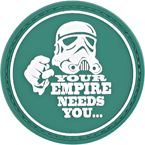 "Патч ""Your empire needs you"", ПВХ, диаметр 6 см"