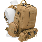 "Рюкзак ""3 Day Assault Pack"" 50 литров (Tan)"
