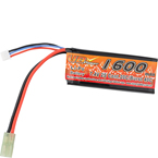 Аккумулятор 7.4V 1600mAh 20C Mini-type (LiPo) VB